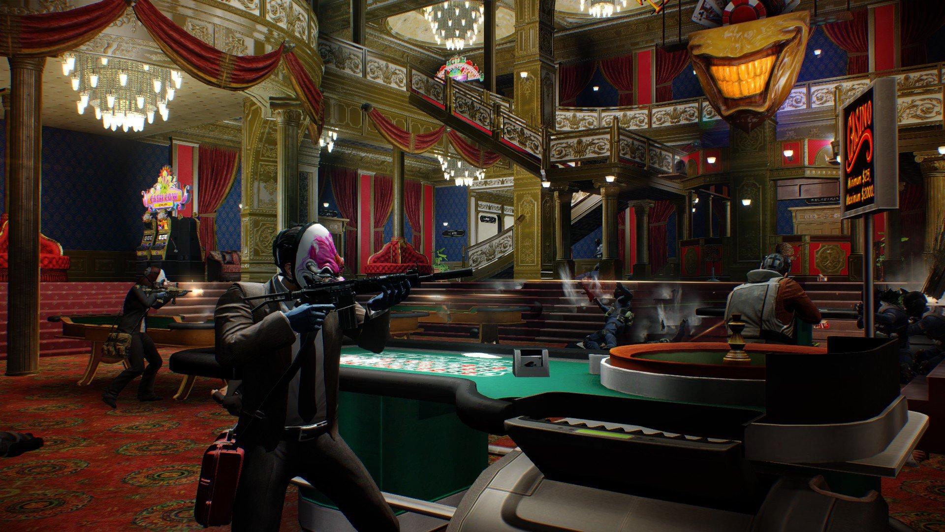 Payday 2 казино игровые автоматы игровые автоматы слоты 51