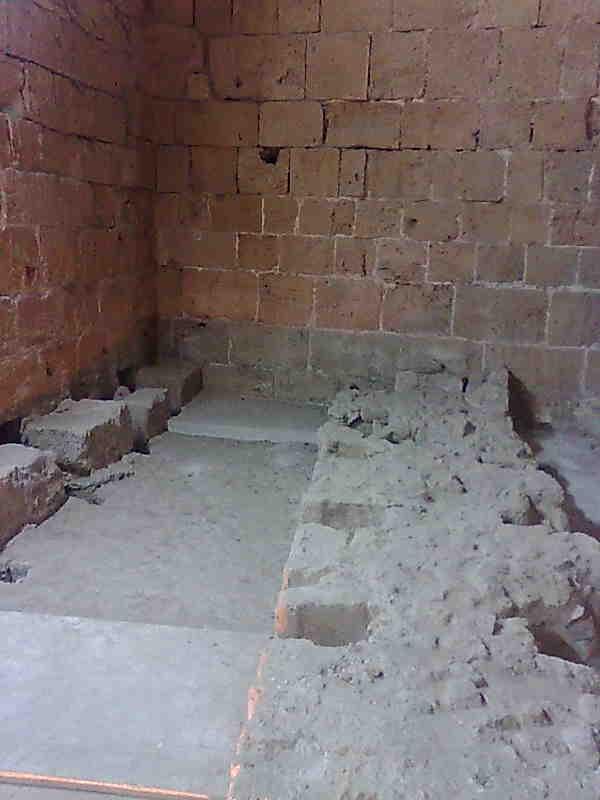 Туалетная комната в цитадели Акко